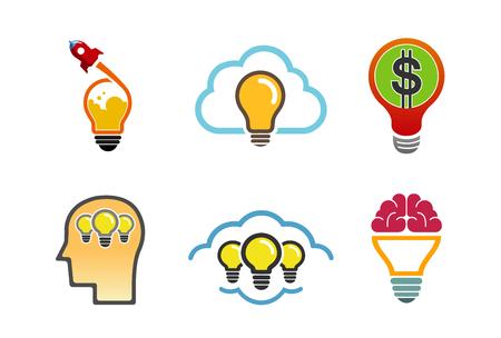 clouding: Ideas collection Logo Symbol Design