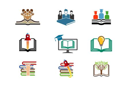 Education Symbol Design Illustration