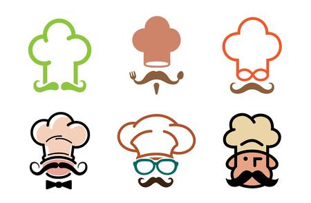 Chef Logo Symbol Design Illustration