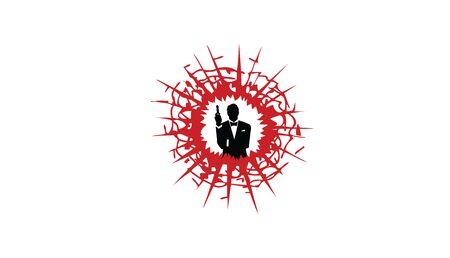 Big Shoot Logo Design Illustration Illustration
