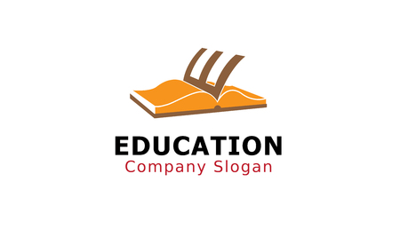 Education Logo Design Illustration