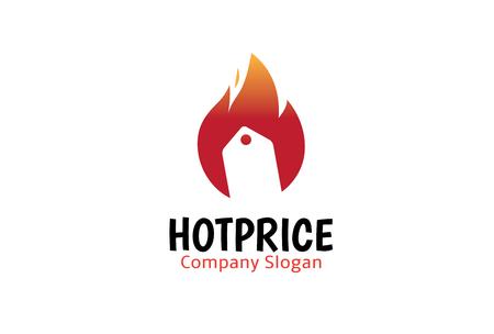 Hot Price Sold Design Illustration