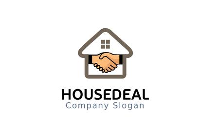 Maison deal symbole de conception . illustration Banque d'images - 92152773