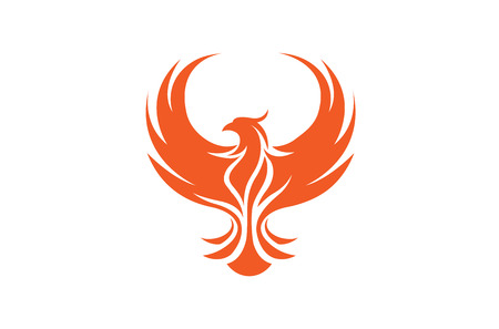 Creative Phoenix Bird icon Design Illustration Stock fotó - 106416431