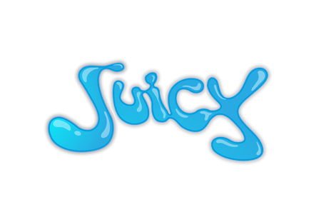 Creative letter juice Illustration