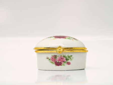 A Ceramic case for keeping either lozenge or pastille for lady from Thailand photo