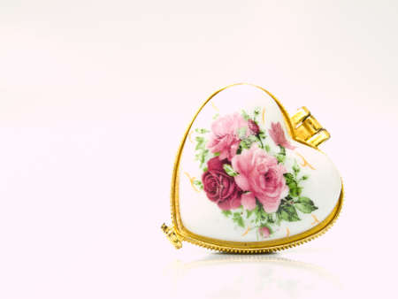 Ceramic case for keeping either lozenge or pastille for lady from Thailand Stock Photo - 17482048