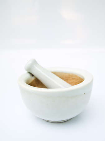 An apothecary mortar bowl photo