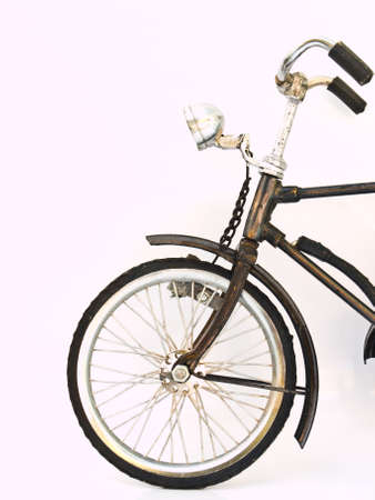 Iron bicycle model, handmade from Yogyakarta, Indonesia photo