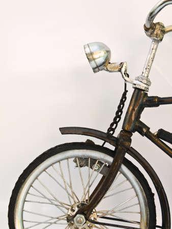 Iron bicycle model, handmade from Yogyakarta, Indonesia Stock Photo