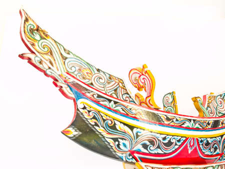 A Thai Southern-most traditional fishing boat, Kolek, Model