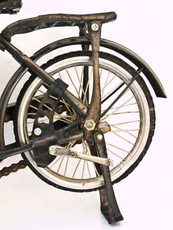 Iron bicycle model, handmade from Yogyakarta, Indonesia Stock Photo