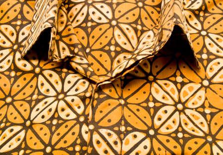 brown shirt: Coffee beans brown batik shirt from Yogyakarta, Indonesia