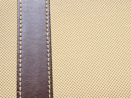 cracklier: Artificial  light brown leather texture background
