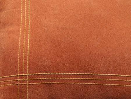 velvet texture: Struttura di velluto arancione con linee come sfondo Archivio Fotografico