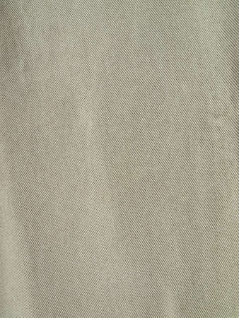 Striped textured used Khaki jeans denim fabric background