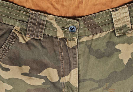 camouflage pants Stock Photo - 17615694