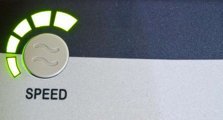 Green light speed button as background Stock Photo - 17614762
