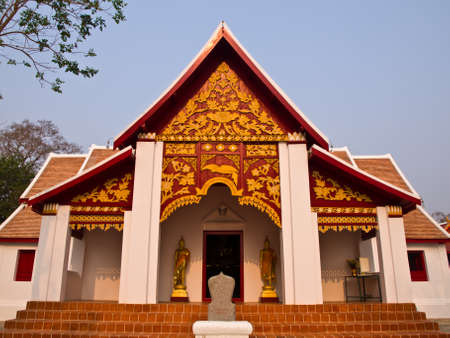 Buddhist Monastry, wat Phra that kao noi, Nan Thailand photo