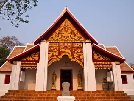 Buddhist Monastry, wat Phra that kao noi, Nan Thailand Stock Photo - 17649066