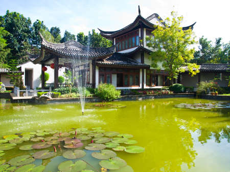 Sirindhon Chinese cultural center, Mae Fah Luang University, Chiang Rai, Thailand Stock Photo - 17668607