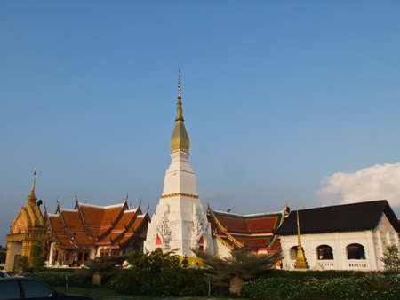 chum: Wat Phra That Choeng Chum ,  Sakon Nakorn, Thailand Stock Photo