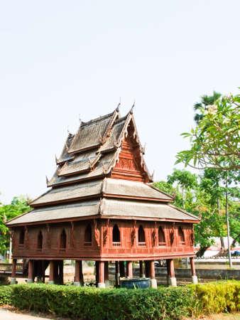 Tripitaka house, Wat Thuang Sri Nuang, Ubonratchathani, Thailan Stock Photo - 17668613