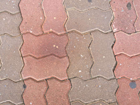 Block pavement as background Stock Photo