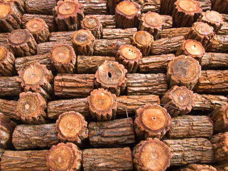 fire wood background texture. closeup of chopped fire wood stack Stock Photo - 17879802