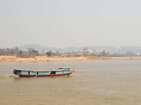 mekong river,  Chiang rai ,thailand photo