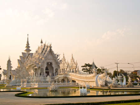 Wat Rong Khun at Chiang Rai, Thailand Stock Photo - 18004719