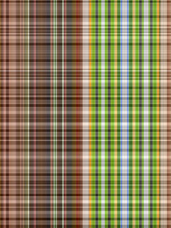 Green and brown strip abstract background Stock Photo