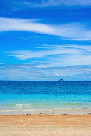 koh tao: Beach and tropical sea, Koh Tao, Thailand