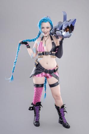 action: Fantasy Action Hero. Models dressed in their favorite heroes