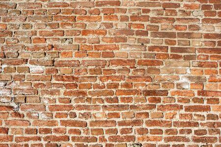 paredes de ladrillos: Pared de ladrillo. Antiguo muro de ladrillo textura de fondo