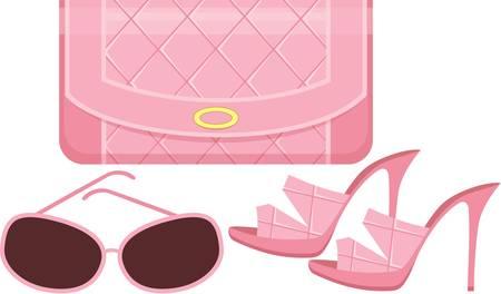 Women s shoes: Nữ túi xách, giày dép và kính mặt trời. Hình minh hoạ
