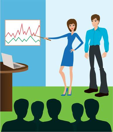 Business meeting. vector  Stock Vector - 10945356
