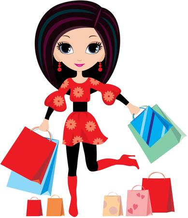 Shopping Stock Vector - 10945371