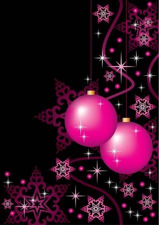 Christmas card. vector, gradient Stock Vector - 11113130