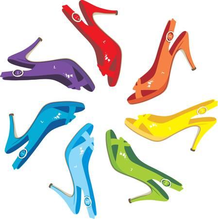 stilettos: Females sandals