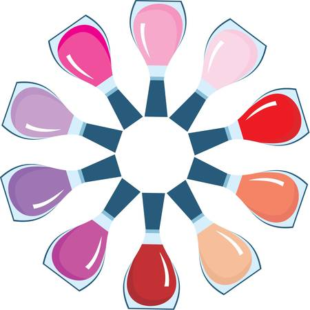 Nail polish Stock Vector - 11113082