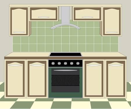Meble kuchenne. Wnętrze