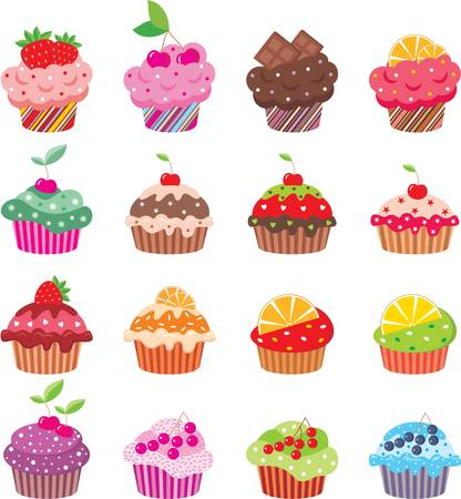 cupcake illustration: Cupcakes