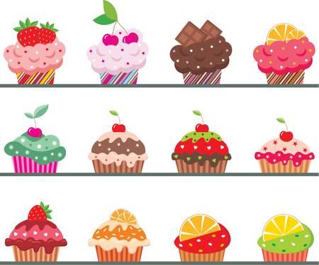 Cupcakes op een regiment