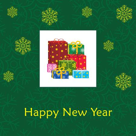 New Year's card Stock Vector - 11656194