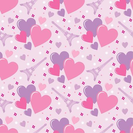 Seamless hearts pattern Stock Vector - 11656216