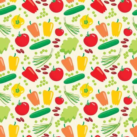 Jednolite wzór warzywa