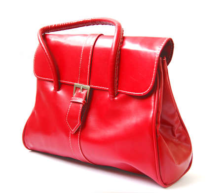 Red women bag photo