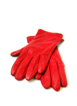 Red gloves photo