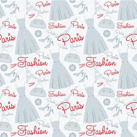 glamors: Seamless fashion pattern Illustration